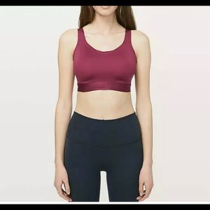 Lululemon Fine Form Sports Bra Star Ruby SIZE C36